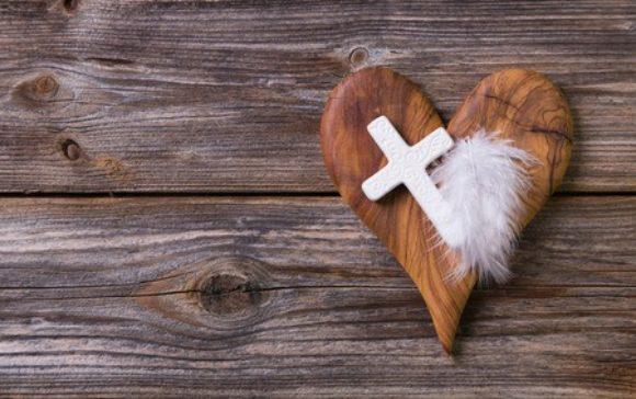 Hart en kruis